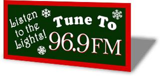 Radio Station Sign Mokup